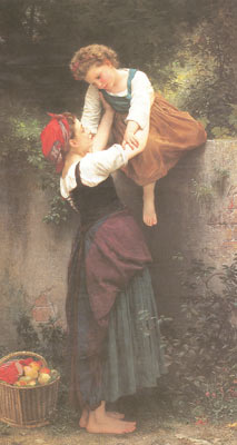 Adolphe-William Bouguereau, Little Marauders Fine Art Reproduction Oil Painting