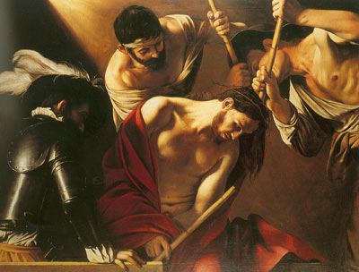 Michelangelo Caravaggio, The Crowning with Thorns Fine Art Reproduction Oil Painting