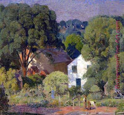 Daniel Garber, Day in June Fine Art Reproduction Oil Painting