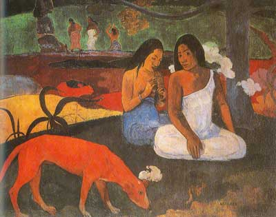 Paul Gauguin, Joyeusete (Arearea) Fine Art Reproduction Oil Painting