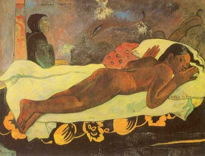 Paul Gauguin, The Spirit of the Dead Keeps Watch Fine Art Reproduction Oil Painting