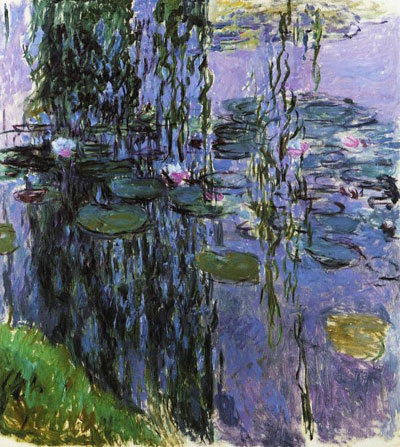 Claude Monet, Water Lilies Fine Art Reproduction Oil Painting