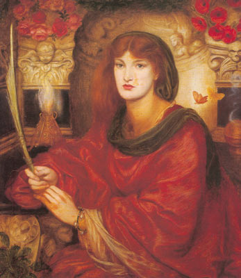 Dante Gabriel Rossetti, Sibylla Fine Art Reproduction Oil Painting