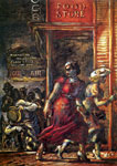 Reginald Marsh, Food Store (The Death of Dillinger) Fine Art Reproduction Oil Painting