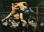 George Bellows, Stag at Sharkey's Fine Art Reproduction Oil Painting