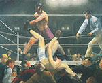 George Bellows, Dempsey and Firpo Fine Art Reproduction Oil Painting