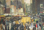 George Bellows, New York Fine Art Reproduction Oil Painting