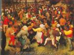 Pieter Bruegel the Elder, The Wedding Dance Fine Art Reproduction Oil Painting