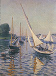 Gustave Caillebotte, Regatta at Argenteuil Fine Art Reproduction Oil Painting