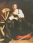 Michelangelo Caravaggio, The Penitent Mary Magdelene Fine Art Reproduction Oil Painting