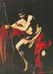 Michelangelo Caravaggio, St John the Baptist Fine Art Reproduction Oil Painting