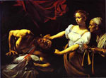 Michelangelo Caravaggio, Judith and Holofernes Fine Art Reproduction Oil Painting