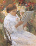 Mary Cassatt, On a Balcony Fine Art Reproduction Oil Painting