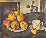 Paul Cezanne, Still Life with Apples Fine Art Reproduction Oil Painting