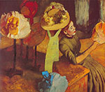 Edgar Degas, The Millinery Shop Fine Art Reproduction Oil Painting