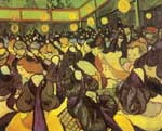 Vincent Van Gogh, The Dance Hall in Arles Fine Art Reproduction Oil Painting