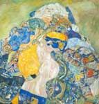Gustave Klimt, Baby Fine Art Reproduction Oil Painting