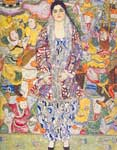 Gustave Klimt, Portrait of Friederike Maria Boa Fine Art Reproduction Oil Painting