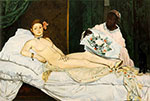 Edouard Manet, Olympia Fine Art Reproduction Oil Painting