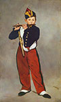 Edouard Manet, The Fifer Fine Art Reproduction Oil Painting