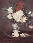 Edouard Manet, Peonies Fine Art Reproduction Oil Painting