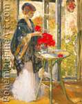 Richard Miller, Morning Sunlight Fine Art Reproduction Oil Painting