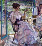 Richard Miller, The Necklace Fine Art Reproduction Oil Painting