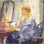 Richard Miller, Woman Fine Art Reproduction Oil Painting