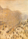 Claude Monet, Boulevard des Capucines Fine Art Reproduction Oil Painting