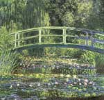 Claude Monet, Water Lilies and Japanese Bridge Fine Art Reproduction Oil Painting