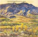 Charles Reiffel, In the San Felipe Valley Fine Art Reproduction Oil Painting