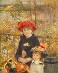 Pierre August Renoir, On the Terrace Fine Art Reproduction Oil Painting