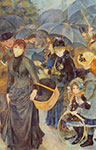Pierre August Renoir, Umbrellas (Les Parapluies) Fine Art Reproduction Oil Painting