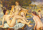 Pierre August Renoir, The Bathers (Les Grandes Baigneuses) Fine Art Reproduction Oil Painting