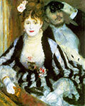 Pierre August Renoir, The Box (La Loge) Fine Art Reproduction Oil Painting