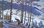 Nicholas Roerich, Sergius the Builder Fine Art Reproduction Oil Painting