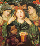 Dante Gabriel Rossetti, The Beloved Fine Art Reproduction Oil Painting
