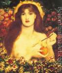 Dante Gabriel Rossetti, Venus Verticordia Fine Art Reproduction Oil Painting