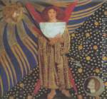 Dante Gabriel Rossetti, Dantis Amor Fine Art Reproduction Oil Painting