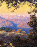 Guy Rose, Sunset in the High Sierras Fine Art Reproduction Oil Painting