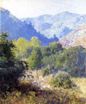 Guy Rose, View in the San Gabriel Mountains Fine Art Reproduction Oil Painting