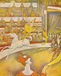 Georges Seurat, The Circus Fine Art Reproduction Oil Painting