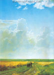 Ivan Shiskin, Midday on the Environs of Moscow Fine Art Reproduction Oil Painting