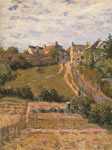 Alfred Sisley, The Rising Path Fine Art Reproduction Oil Painting