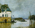 Alfred Sisley, Floods at Port-Marly Fine Art Reproduction Oil Painting
