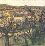 Maurice Utrillo, Butte Pinson at Montmagny Fine Art Reproduction Oil Painting