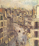 Maurice Utrillo, Rue Lepic Fine Art Reproduction Oil Painting