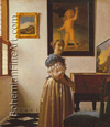 Johannes Vermeer, A Lady Standing at the Virginals Fine Art Reproduction Oil Painting