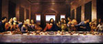 Leonardo Da Vinci, The Last Supper Fine Art Reproduction Oil Painting
