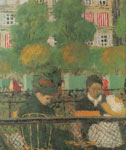 Edouard Vuillard, Aux Tuileries Fine Art Reproduction Oil Painting